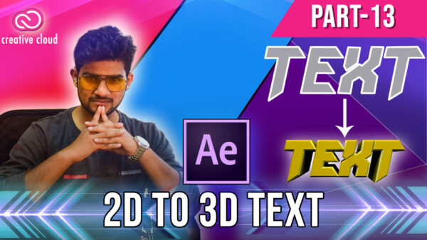 13 2D to 3D text