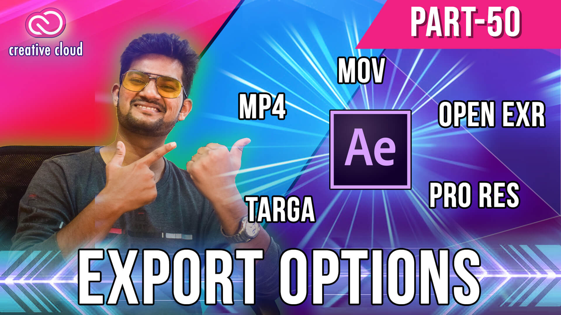50 Export options